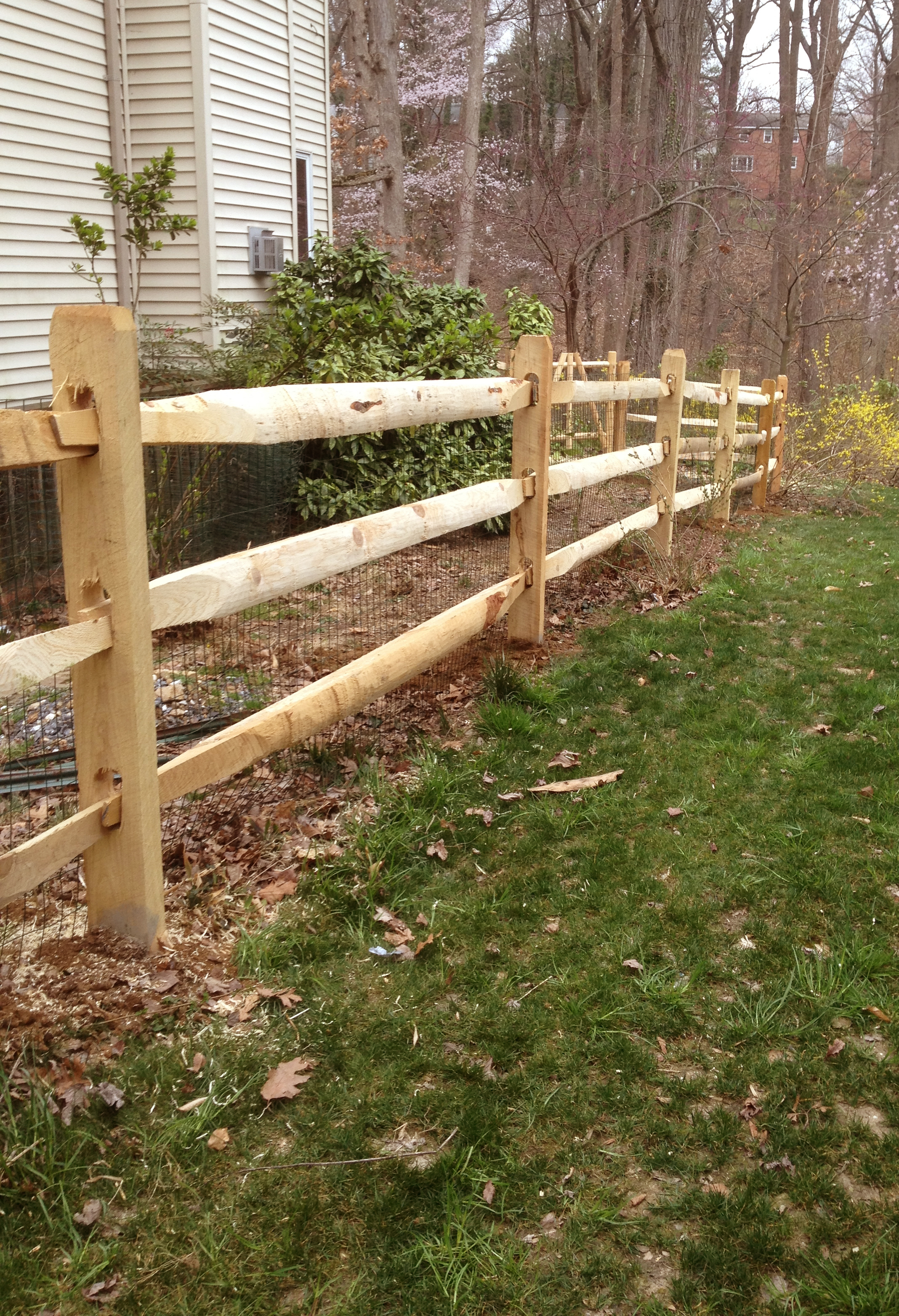 Wood Fencing In Maryland Tri County Fence Amp Decks